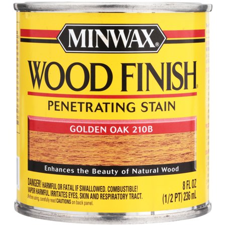 Minwax Woodfinish Golden Oak 1/2-Pint