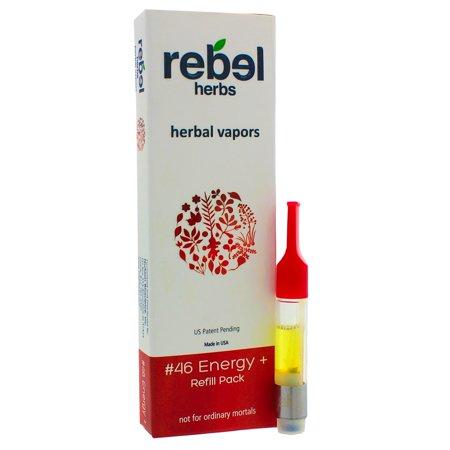Rebel Herbs, Energy+ Vapor Refill 1 Refill ()