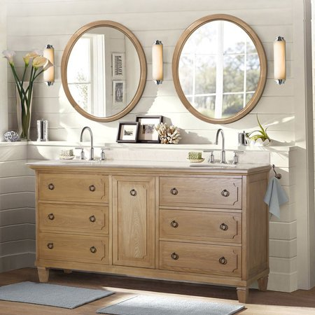 Legion Furniture Wlf6060 Double Bathroom Vanity Image 1 Of 5