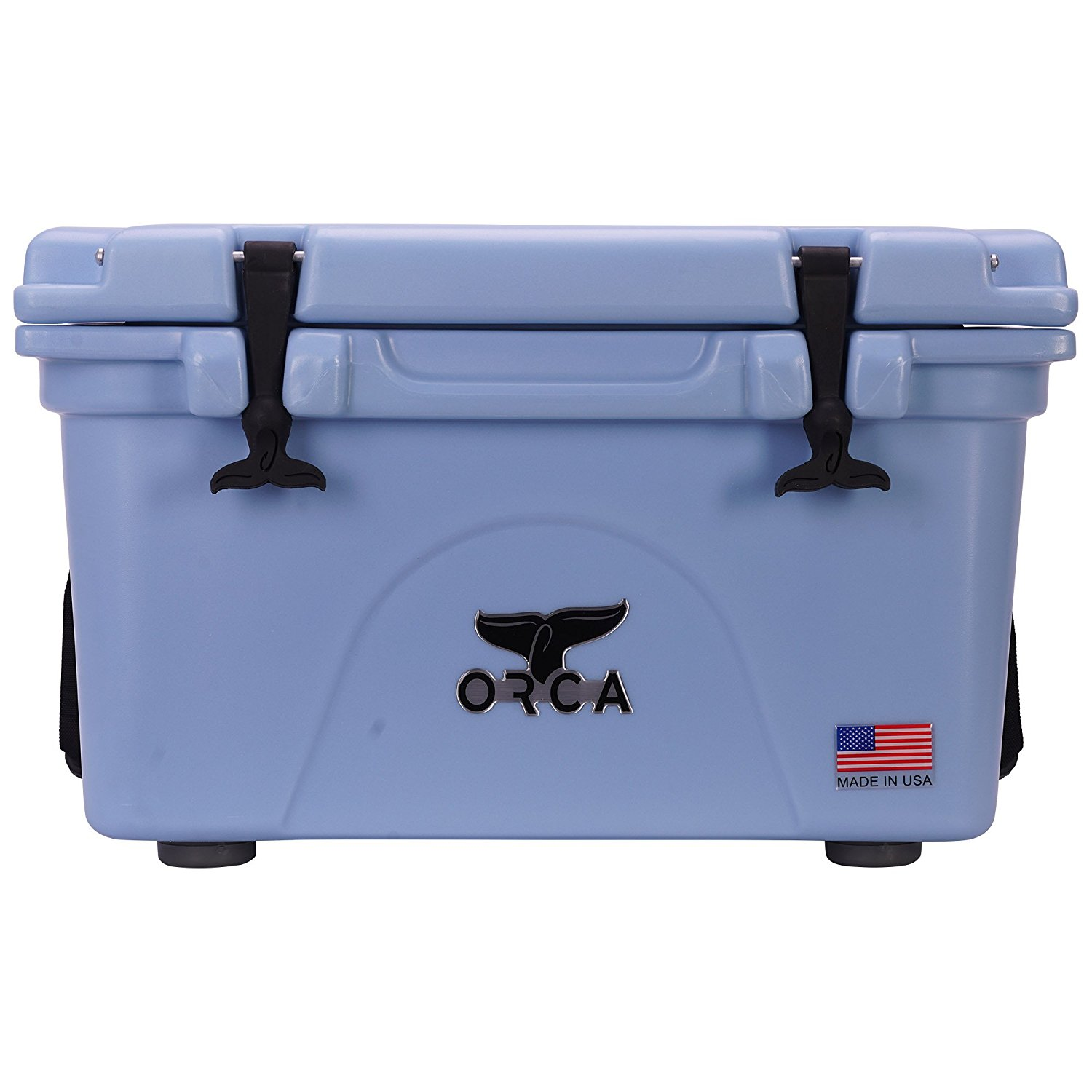ORCA 26 Quart Cooler Light Blue USA Made