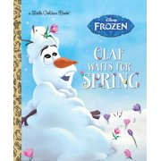 Olaf Waits for Spring (Disney Frozen) (Hardcover)