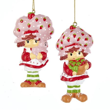 """Pack of 24 Vibrantly Colored Strawberry Shortcake Ornaments Holiday Decorations 3.5"""" for $<!---->"""