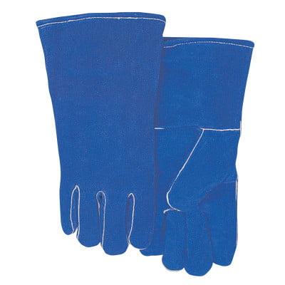 Leather Welding Gloves, Shoulder Split Cowhide, Large, (Best Gloves For Working On Cars)