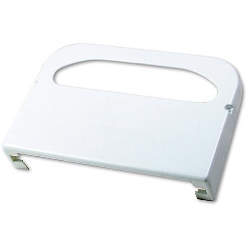 Krystal Wall-Mount Toilet Seat Cover Plastic Dispenser, White