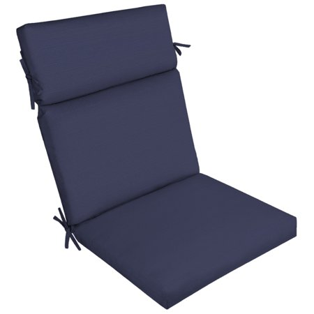 Better Homes & Gardens Navy 44 x 21 in. Outdoor Dining Chair Cushion with EnviroGuard ()