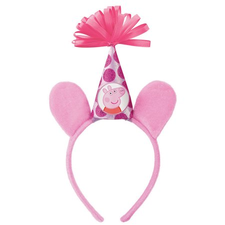 Peppa Pig  Headband Deluxe - Party Supplies