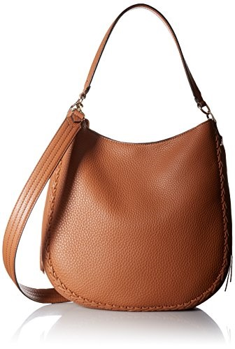 Rebecca Minkoff Unlined Ladies Large Almond Leather Hobo Handbag HSP7IUWH32
