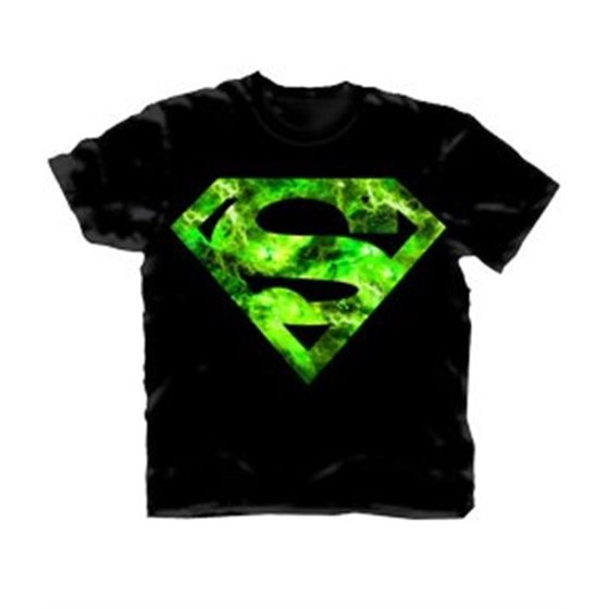 2757d35e8cd Changes - Superman Green Space Logo Men s T-Shirt - Walmart.com