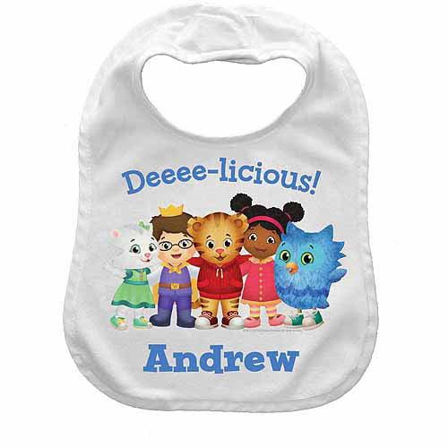 Personalized Daniel Tiger's Neighborhood Deeee-licious Bib
