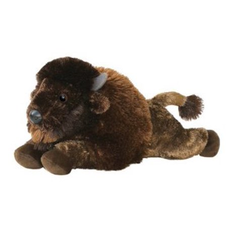 Aurora Unisex Stuffed Bison Toy Animal Brown One Size (Bison Animals)