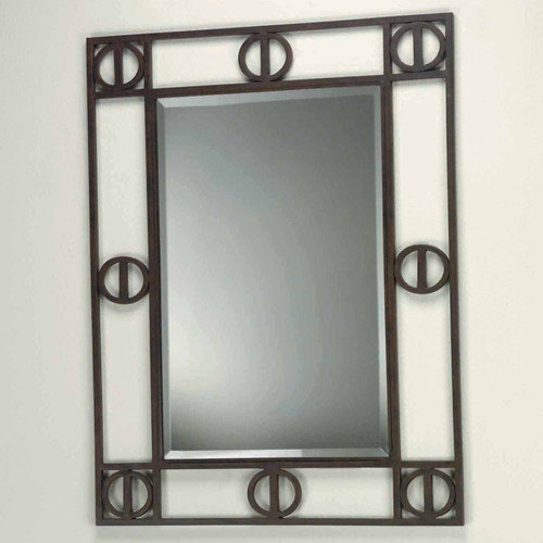 Lite Source Etruscan Framed Mirror
