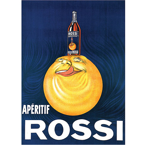 "Trademark Fine Art ""Aperitif Rossi"" Canvas Art, 24x32"