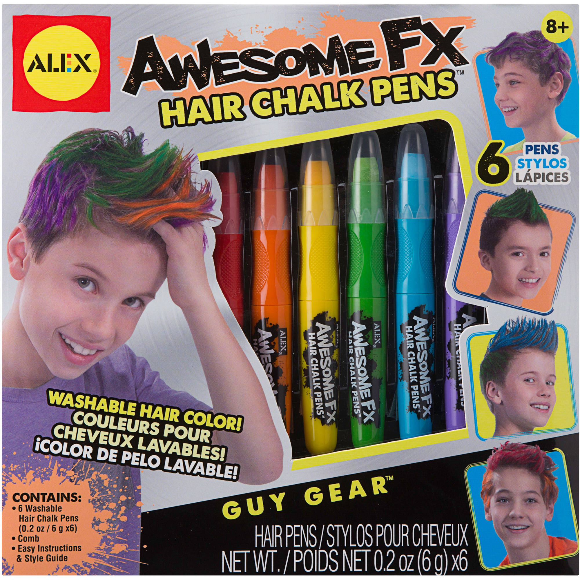 ALEX Toys Awesome FX Hair Chalk Pens 0A1605