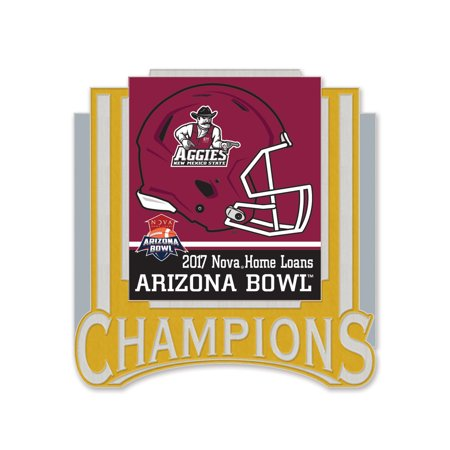 New Mexico State Aggies WinCraft 2017 Arizona Bowl Champions Pin - No Size