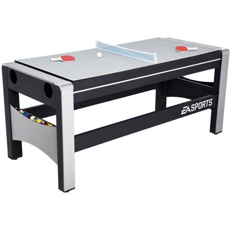 Espn 72 Inch 4 In 1 Swivel Combo Game Table 4 Games With