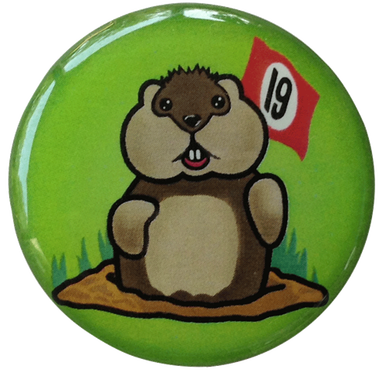 Caddyshack Golf Ball Marker & Hat Clip - 19th Hole Gopher