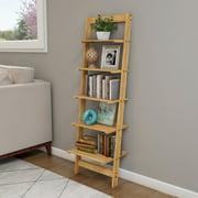 Lavish Home 5-Tier Ladder Shelf, Blonde Finish
