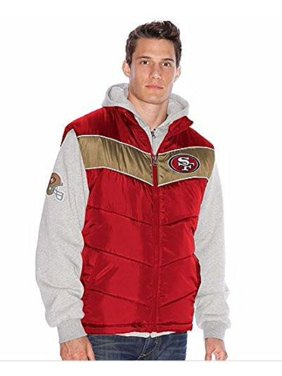 Product Image San Francisco Football Forty-Niners 3-in-1 Vest-hoodie Combo  Jacket 115ba52ed