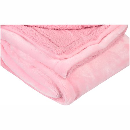 Little Starter Pink Perfectly Cozy Royal Plush Blanket