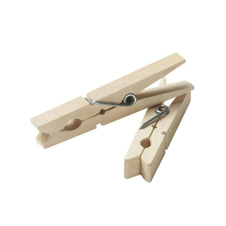 Household Essentials Wood Clothespins, - Cloths Pin