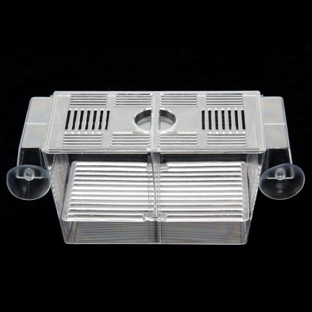 Aquarium Hatchery Trap Fish Breeding Plastic Box Tank Fry Floating Breeder Isolation Box