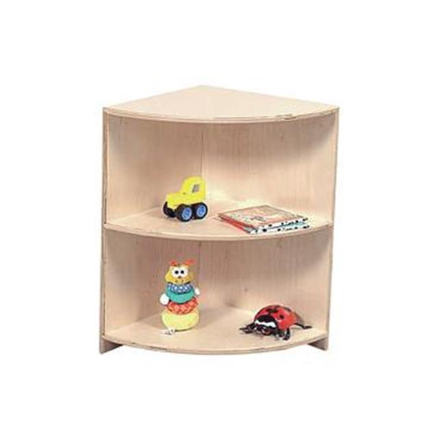 Wood Designs 17600 Shelf Corner Cabinet Tot Size by Wood Designs