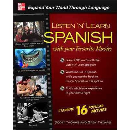 Listen N Learn Spanish From Your Favorite Movies