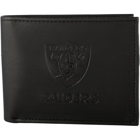 Oakland Raiders Hybrid Bi-Fold Wallet - Black - No Size ()
