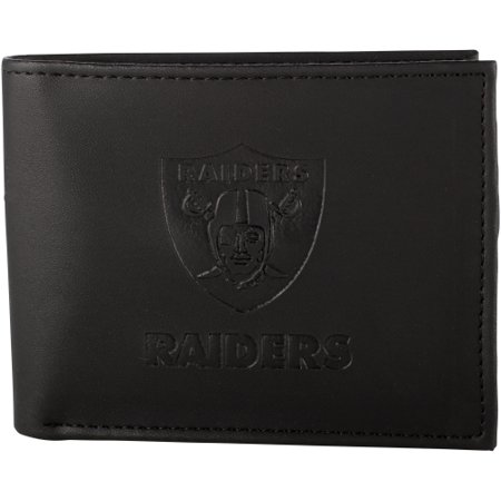 Oakland Raiders Hybrid Bi-Fold Wallet - Black - No Size
