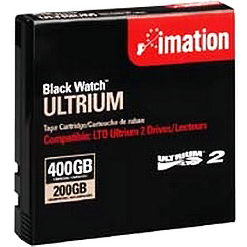 66000065996 Imation LTO Ultrium 2 Tape Cartridge - LTO-2 - 200 GB (Native) / 400 GB (Compressed) - 1 Pack