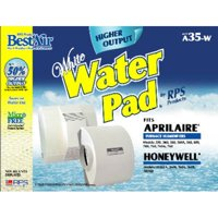 """A35W, Aprilaire Replacement, Paper Furnace Humidifier Water Pad, 13.2"""" x 1.8"""" x 10.2"""", High Output By BestAir"""