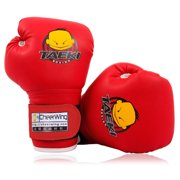 Cheerwing PU Kids Children Cartoon Sparring Dajn Boxing Gloves Training Age 5-10 Years by Cheerwing