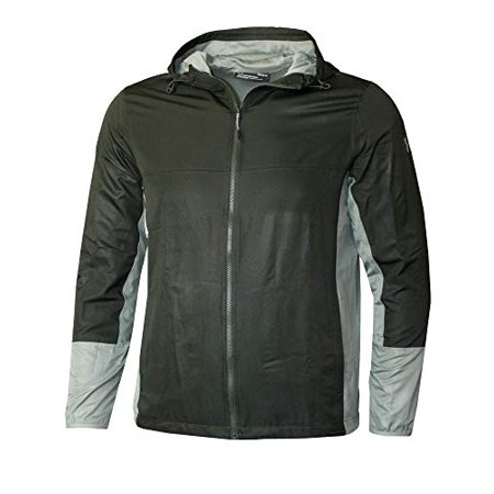 Under Armour Hooded Full Zip Athletic Performance Jacket 1310948 (Artillery Green, L) - image 1 of 1