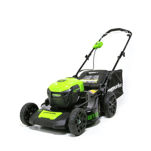 Greenworks G-MAX 40V 21 inch Brushless Dual Port Lawn Mower, Battery and Charger Not Included 2506502 by Sunrise Global Marketing, LLC