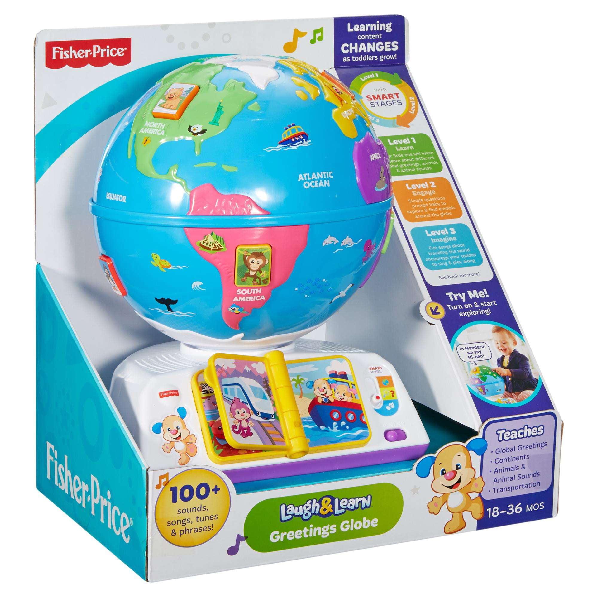 Fisher-Price Laugh & Learn Greetings Globe - Walmart.com