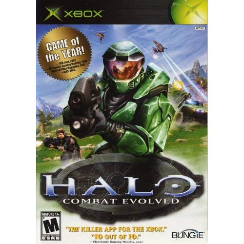 Refurbished Halo: Combat Evolved For Original Xbox
