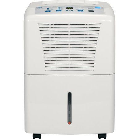 ge 30 pint dehumidifier for basements w drain white adew30lq