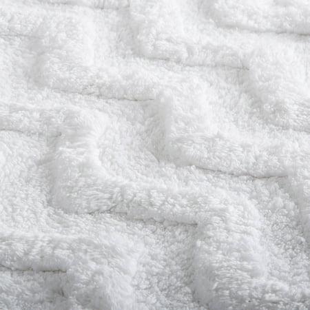 Somerset Home 100% Cotton Chevron Bathroom Mat, 24