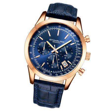 100m Subdials Bracelet - RaceTrackr Series : 3975L.7, 2 Pusher, 3 Subdial Japanese Quartz Chronograph Mens Watch With Flexi-Mesh Ultra-Comfortable Bracelet 10ATM