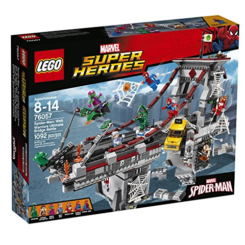 LEGO Super Heroes 76057 Spider-Man: Web Warriors Ultimate Bridge Building Kit (1092 Piece)