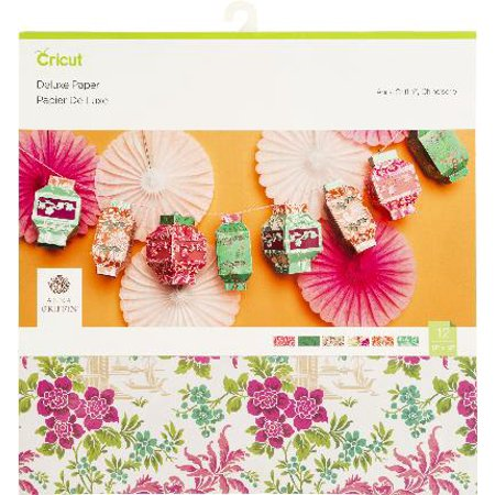 """Cricut Cardstock Paper, Anna Griffin, Chinoiserie - 12""""x12"""""""