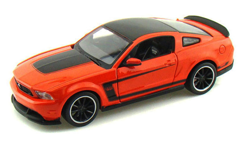 Ford Mustang Boss 302, Orange Maisto 31269 1 24 Scale Diecast Model Toy Car by Maisto