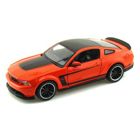 302 Mustang Engine - Ford Mustang Boss 302, Orange - Maisto 31269 - 1/24 Scale Diecast Model Toy Car