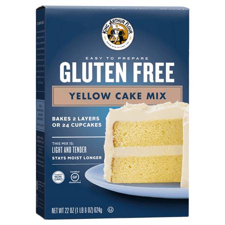 King Arthur Flour® Gluten Free Yellow Cake Mix 22 oz. Box