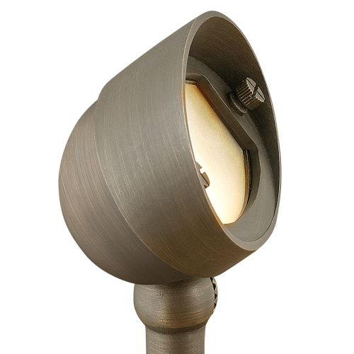 "Hinkley Lighting 16571 12v 35w Solid Brass Oval 4.5"" Diameter Landscape Round Spotlight from the Hardy Island Collection"
