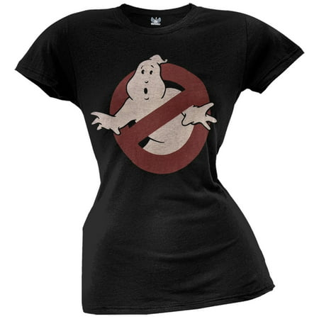 Ghostbusters - Classic Logo Juniors T-Shirt
