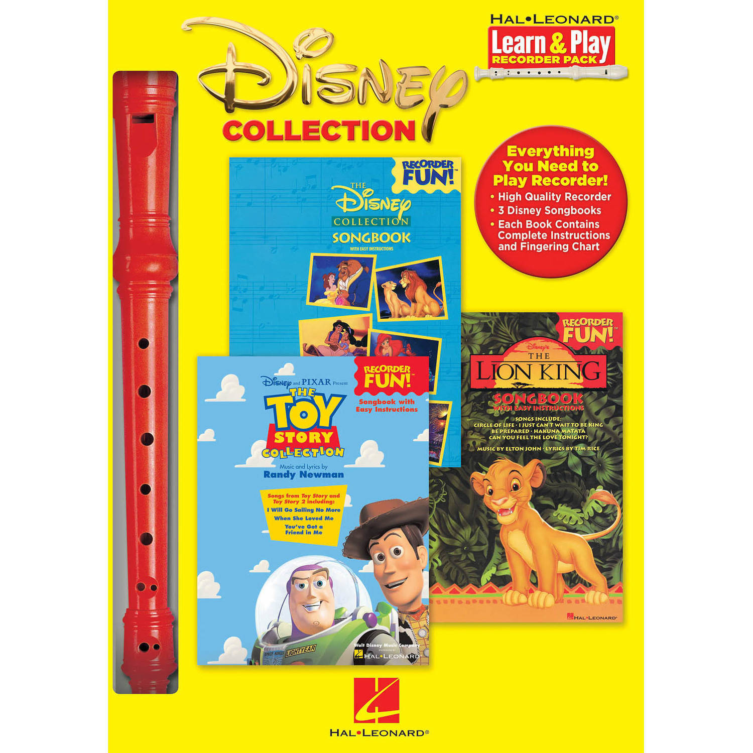 Disney Collection Recorder Pack