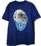 NFL Indianapolis Colts Helmet Adult Tee Shirt Medium