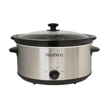 West Bend Kitchen Appliances 87156 West Bend 6 Qt. Round Crockery
