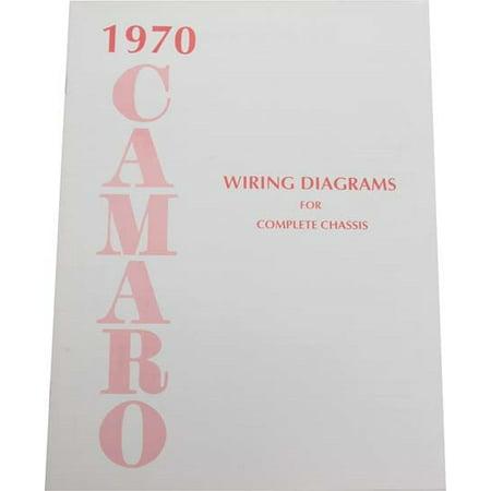 Jim Osborn MP0160 1970 Camaro Wiring Diagrams (1968 Camaro Wiring Diagram)